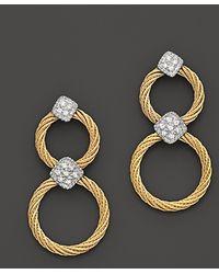 Charriol - Classique Diamond Drop Earrings, .11 Ct. T.W. - Lyst