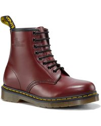 Dr. Martens 1460 Leather Ankle Boots - Lyst