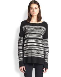 Bailey 44 Nordic Ski Stripe Patterned Sweater - Lyst