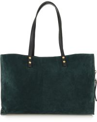 Chloé  House Of Voltaire Dilan Suede Tote - Lyst