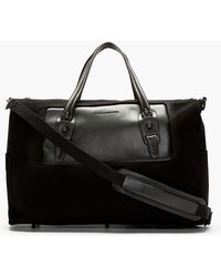 Diesel Black Gold - Ssense Exclusive Quin Travel Bag - Lyst