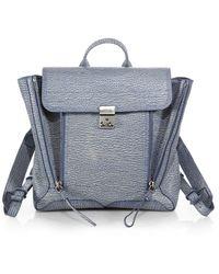 3.1 Phillip Lim Blue Pashli Backpack - Lyst