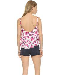 Tori Praver Swimwear - Morningside Crop Top - Casablanca Seashell - Lyst