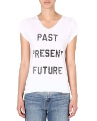 Zoe Karssen Past Present Future T-shirt - Lyst