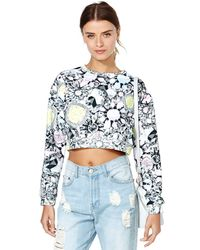 Nasty Gal Jaded Jewel Crop Top - Lyst