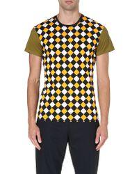 Jonathan Saunders Printed Finch T-shirt - Lyst