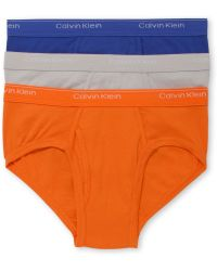 Calvin Klein Mens Cotton Basic Low Rise Brief 3 Pack - Lyst