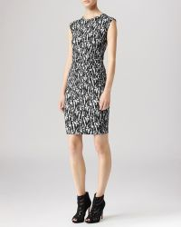 Reiss Dress Rica Printed - Lyst