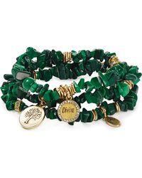Sequin - Colour Karma Divine Tree Bracelets, Set Of 3 - Lyst