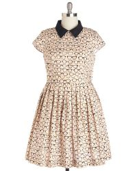 ModCloth Clear As Day Off Dress multicolor - Lyst