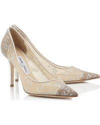 Jimmy Choo White Agnes - Lyst