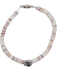 Duchess Of Malfi Conus Shell Bracelet With Skull - Lyst
