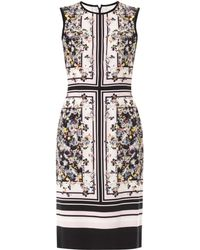 Erdem Eames Gardenprint Tali Dress - Lyst