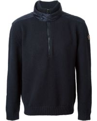 Moncler Grenoble Layered Collar Sweater - Lyst