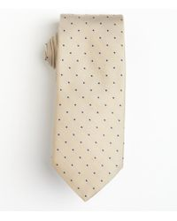 Hugo Boss Khaki Dotted Silk Tie - Lyst