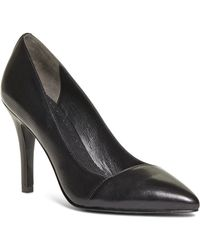 Brooks Brothers Leather Pumps - Lyst