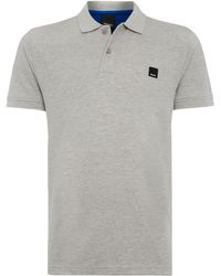Bench Cotton Pique Polo Shirt - Lyst