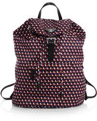 prada clutch black - prada vintage eyelet backpack, pink and purple prada sneakers