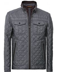 Boss Black Carbour Quilted Jacket - Lyst