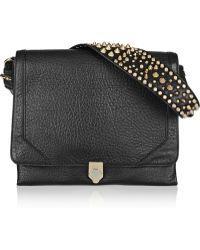 Rebecca Minkoff Jax Textured Leather Shoulder Bag - Lyst