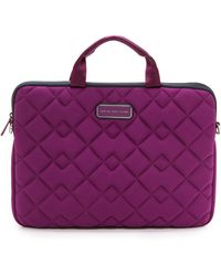 Marc By Marc Jacobs Crosby 13 Commuter Case - Violet - Lyst