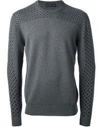 Etro Pattern Detail Sweater - Lyst