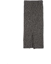 Brochu Walker The Hume Skirt gray - Lyst
