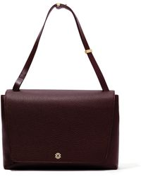 Dagne Dover - The Simone Satchel - Oxblood - Lyst