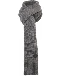 Minimum - Bern Dark Grey Scarf - Lyst