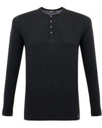 Matíníque - Bruce Black Henley T-Shirt 30200306 - Lyst