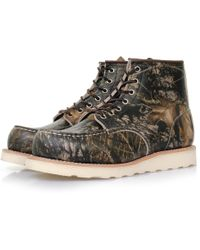 Red Wing - Moc Toe 8884 Mossy Oak Camo Boots - Lyst