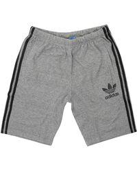 adidas Originals - Ac Baggy Grey Shorts - Lyst