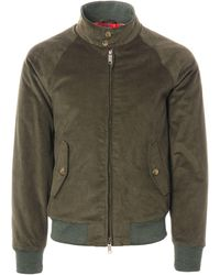 Baracuta - G9 Corduroy Harrington Jacket - Lyst