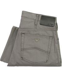 Armani Jeans - J21 Grey Chino Jeans 8N6J21 6N0Lz C1900 - Lyst