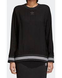 adidas Originals - Womens Sweatshirt - Lyst