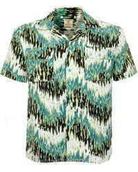 a8cb06586a 1955 s Sawtooth Denim Shirt.  183. Slam Jam Socialism · Levi s - Levi s  Vintage Spread Collar Green Haze Shirt - Lyst
