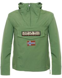 Napapijri - Rainforest Summer Green Cagoule Jacket - Lyst