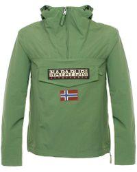 Napapijri - Rainforest Summer Green Cagoule Jacket N0yh0by49 - Lyst