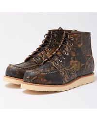 Red Wing - Moc Toe 8884 Mossy Oak Camo Boots - Lyst