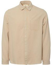 Folk - Flannel Pop Stud Shirt - Lyst