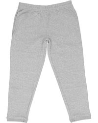 Wolsey - Brushed Soft Handle Grey Sweatpants Wm20M16 - Lyst