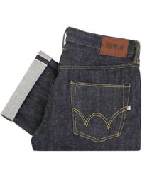 Edwin - Ed-47 Red Listed Selvage Denim - Lyst