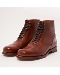 Grenson - Leander Oxford Boot - Lyst