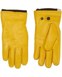 Norse Projects - Rapeseed Utsjo Gloves - Lyst