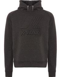 K-Way - Ludovic Logo Hoodie - Lyst