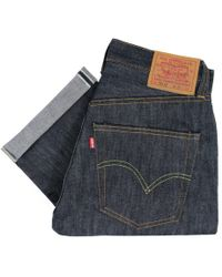 Levi's - Levis Vintage 1947 Rigid Shrink To Fit 501 Xx Unwashed Selvage Denim Jeans 47501-0167 - Lyst