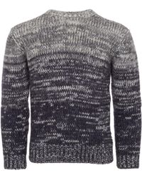 Armani Jeans - Mohair Knitted Jumper - Lyst