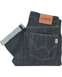 Edwin - Jeans Nashville Unwashed Red Selvage 865B - Lyst