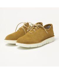 Fracap - Forata Camel Suede Shoes F220 - Lyst