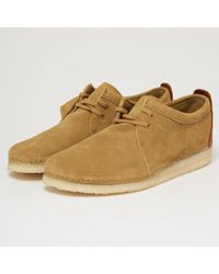 Clarks - Ashton Suede Shoes - Lyst